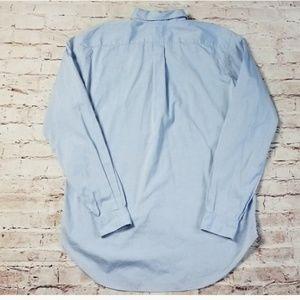 Polo Ralph Lauren Long Sleeve  Blue Size 16 1/2